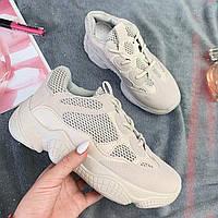 Кроссовки женские Adidas Yeezy 500 Desert Rat Blush (реплика) (13-017) ⏩ [ 37.37 ]