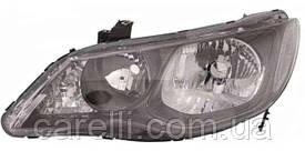 Фара передня для Honda Civic 4d '09-13 ліва (DEPO) під електрокоректор