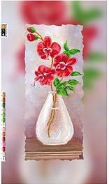 """Схема для вышивки бисером на подрамнике (холст) """"Орхидея-2"""", фото 2"""