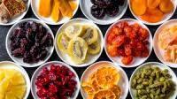 Сушеные, вяленые ягоды и фрукты