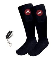 Носки с подогревом и пультом дистанционного управления Glovii GQ2