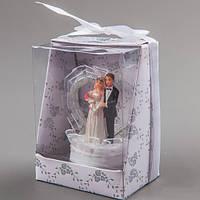 """Свадебная фигурка на торт """"Жених и невеста"""" 8 см"""