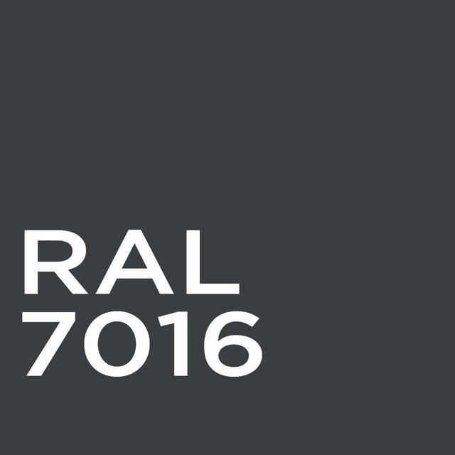 Гладкий лист RAL 7016