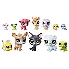 Lps littlest pet shop игрушки Набор Коллекция петов (E2072 Набор игрушек 12 счастливых петов донат), фото 2