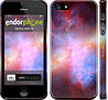"Чехол на iPhone 5s Разноцветная галактика ""169c-21"""