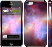"""Чехол на iPhone 5c Разноцветная галактика """"169c-23"""""""