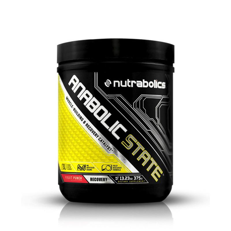 БЦАА NutraBolics BCAA Anabolic State (375 г) нутраболик fruit punch