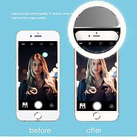 Selfie Led Light Ring, светодиодная вспышка для телефона