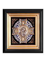 Панагия Богородица( в золотом багете)