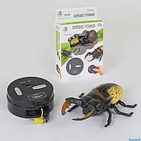 Жук на радиоуправлении, робот жук на управлении, игрушка на радиоуправлении, насекомые для детей