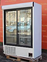 """Холодильная шкаф-витрина """"Cold"""" полезный объём 1200 л., (Польша), новый компрессор, Б/у, фото 1"""