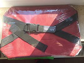 Коврик-сидушка Verdani в тканевом чехле 350х240х15 мм Красный