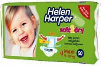 Подгузник Helen Harper (Хелен Харпер) Soft&Dry  4 (9-18 кг) 1 шт