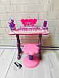 Детский синтезатор - пианино со стульчиком арт. 6618, фото 3