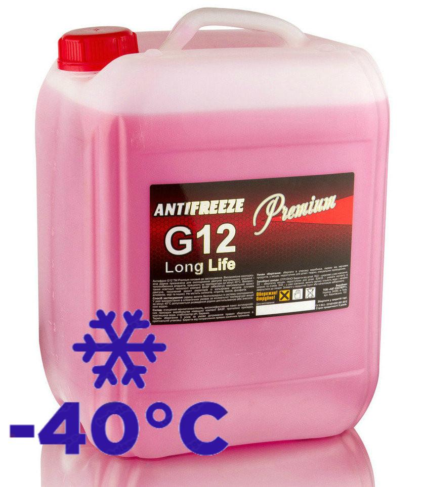 Антифриз красный G12/12+ 10 кг Red LongLife TM Premium