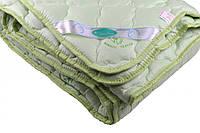Одеяло закрытое однотонное бамбуковое волокно (Микрофибра) Полуторное T-55046
