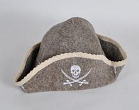 Шапка для бани и сауны войлочная Пират