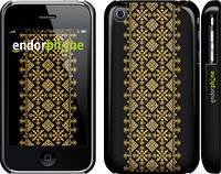 """Чехол на iPhone 3Gs Вышиванка 35 """"604c-34"""""""