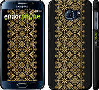 "Чехол на Samsung Galaxy S6 G920 Вышиванка 35 ""604c-80"""