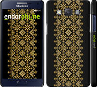 "Чехол на Samsung Galaxy A5 A500H Вышиванка 35 ""604c-73"""