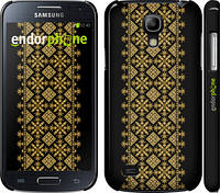 "Чехол на Samsung Galaxy S4 mini Вышиванка 35 ""604c-32"""