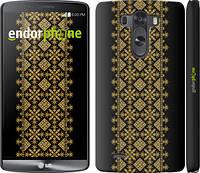"""Чехол на LG G3 dual D856 Вышиванка 35 """"604c-56"""""""
