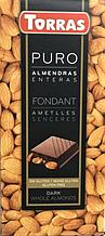 Шоколад Torras Dark Almonds 200 g