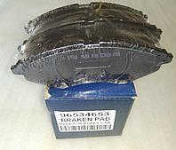 Колодки тормозные передние Авео grog Корея