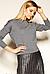 Черный женский свитер Aponi Zaps, коттон, фото 5