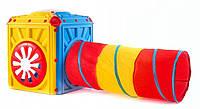 Детская игровая палатка с тоннелем Tobi Toys Activity Cube (игровой домик с туннелем), фото 1