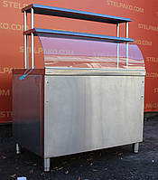 Тепловая витрина «Орест» 114х70х85 см., (Украина), детали заводские, Б/у