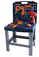 Детский игровой набор инструментов в чемодане Tobi Toys 50 эл., фото 1