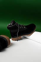 """Зимние ботинки Timberland Military """"Черные"""", фото 3"""