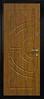 Дверь ПУ-08 мет/мдф дуб золотой 860 (85 мм)