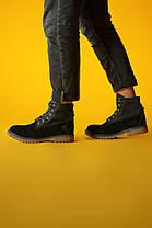 """Зимние ботинки Timberland Military """"Черные"""", фото 2"""