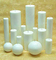 Пополнился ассортимент парафиновых свечей различной формы и размера.