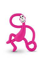 Игрушка - грызунок Маленькая танцующая Обезьянка , цвет розовый, 10 см,  Matchstick Monkey, фото 1