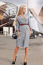 """Облегающее миди-платье на запах """"Helga"""" с четвертным рукавом (2 цвета), фото 2"""