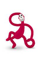 Игрушка - грызунок Маленькая танцующая Обезьянка , цвет красный, 10 см,  Matchstick Monkey, фото 1