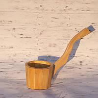 Деревянный черпак для бани и сауны Яро 0,8- 1л