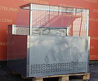 Холодильная витрина колбасная «Айстермо ВХСК 1.3 м.» (Украина), детали заводские, Б/у, фото 1