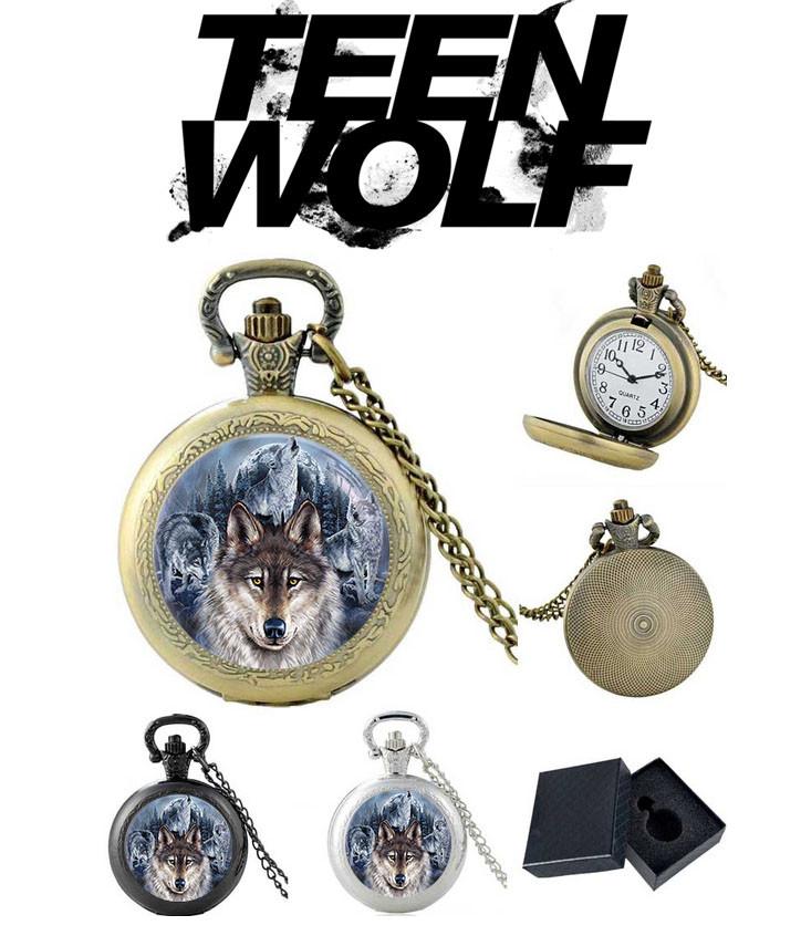 Карманные часы волк Волчонок / Teen Wolf