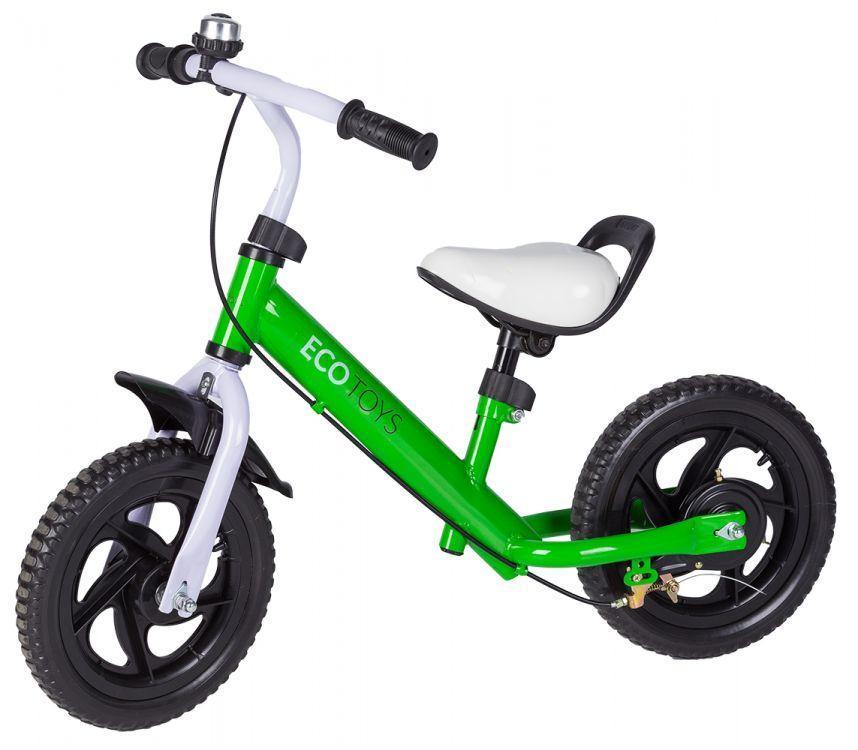 Велобег детский EcoToys BW-1133 с тормозом (беговел самокат-беговел детский транспорт)