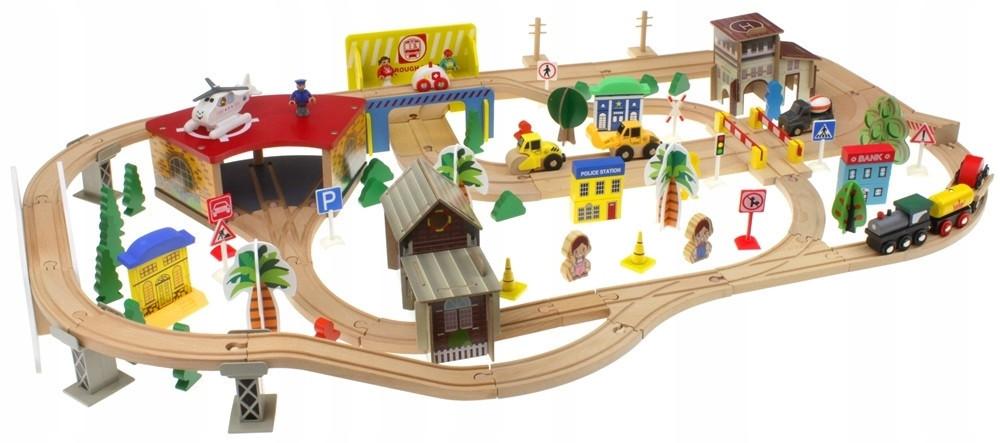 Деревянная железная дорога 138 эл