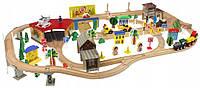 Деревянная железная дорога 138 эл, фото 1