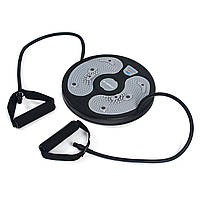Диск твистер с экспандерами Sapphire SG-036 (диск здоровья диск для фитнеса напольный), фото 1
