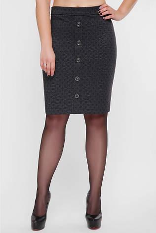 Короткая деловая юбка большие размеры, фото 2