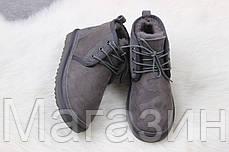 Мужские угги UGG Australia Neumel Grey ботинки УГГ Ньюмел Австралия серые, фото 2
