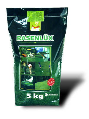 Газонная трава Rasenlux Партерный газон - 5 кг, фото 2