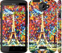 """Чехол на HTC One X Париж """"830c-42"""""""